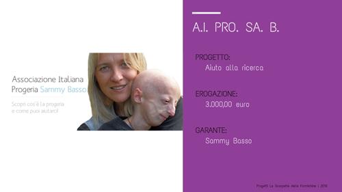 Ass.italiana Progeria_Le scarpette delle Formichine