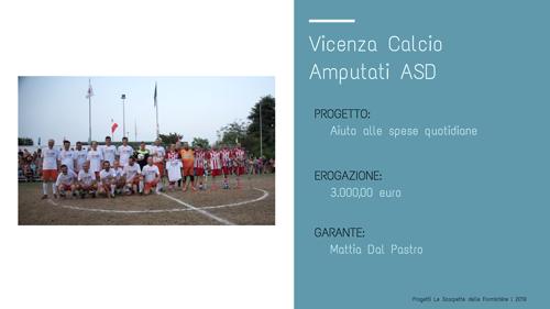 Vicenza Calcio Amputati_Le scarpette delle Formichine